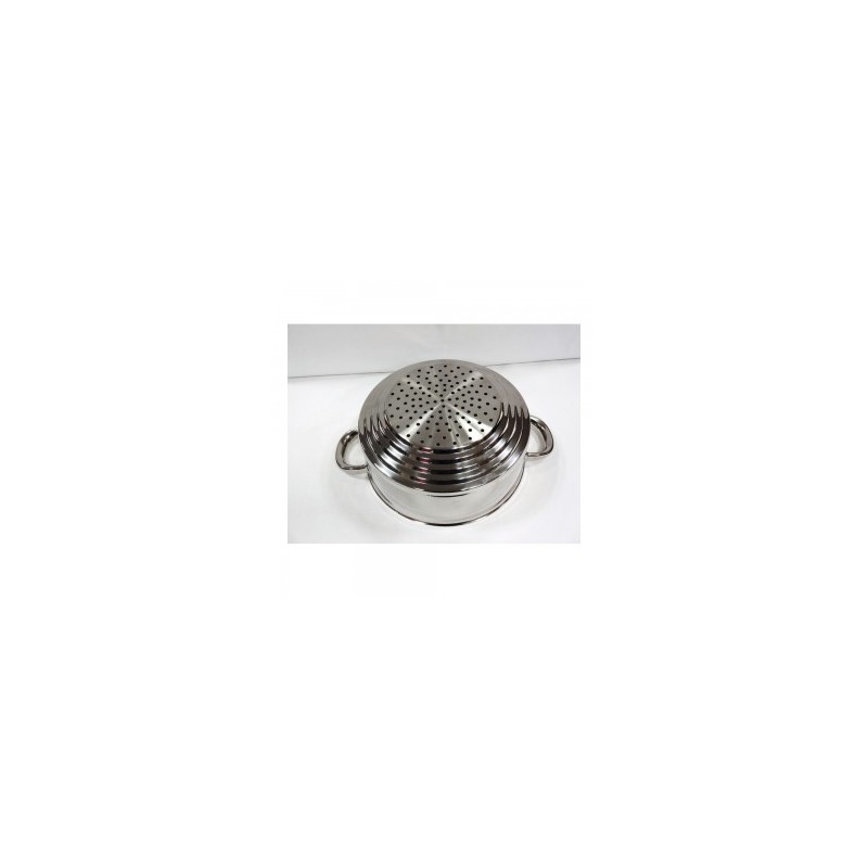 Passoire de cuit vapeur inox artame 16 18 20 cm cookina - Cuit vapeur inox seb ...