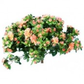 bouquet artificiel buisson azalées wy8114a