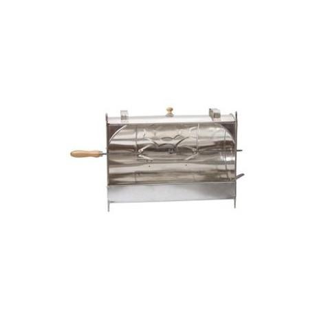 rôtissoire de cheminée métallique