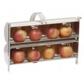 cuit pomme de cheminée métallique 2 rangs