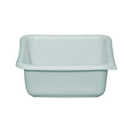 bassine carré plastique 24 cm