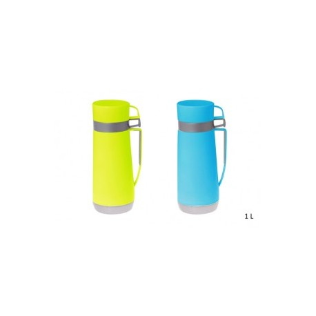 bouteille thermos plastique 1 litre cookina. Black Bedroom Furniture Sets. Home Design Ideas