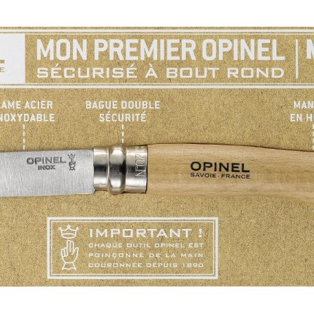 opinel bout rond n°7