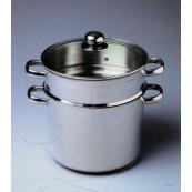 couscoussier 9 litres inox