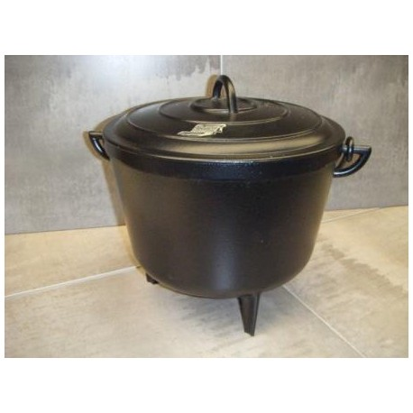 marmite en fonte 12 litre cookina. Black Bedroom Furniture Sets. Home Design Ideas