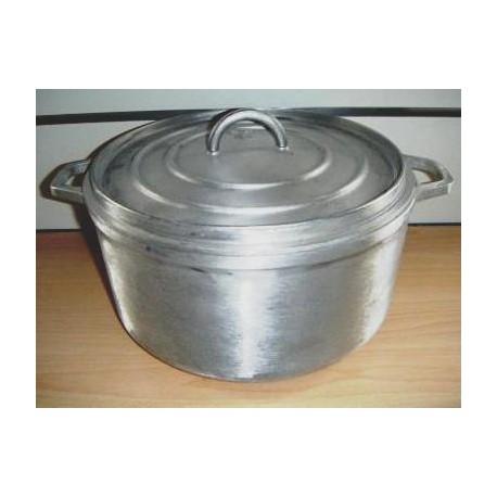 cocotte ronde de 26 cm en fonte d'aluminium