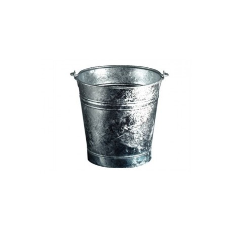 seau galvanisé guillouard de 13 litres 30 cm fabriqué en france