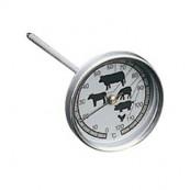 thermomètre à viande rond