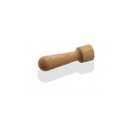 pilon en bois pour mortier ou hachoir