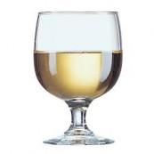 verre à vin Amélia 16cl en verre trempé empilable