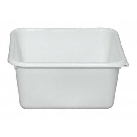 bassine carré de 38 cm plastique
