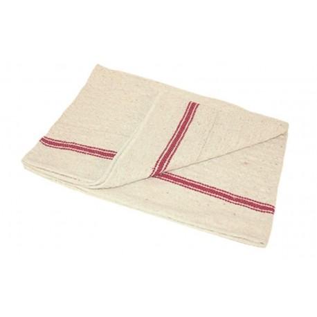 serpillère gaufrée écrue en coton