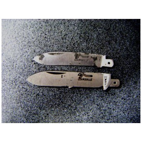 lame de couteau coursolle acier 105 mm