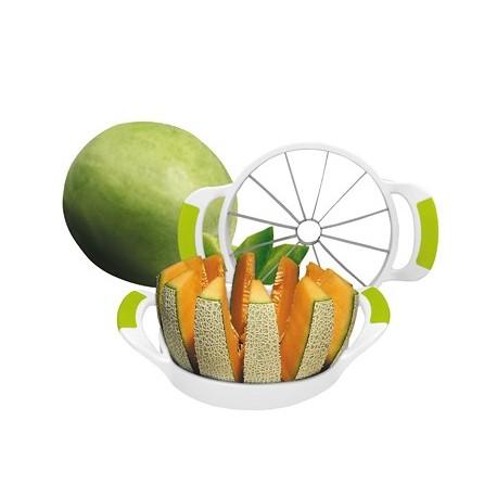 coupe melon ananas