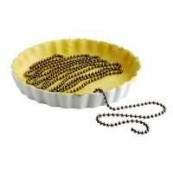 chaine de fond de tartes en inox 180cm