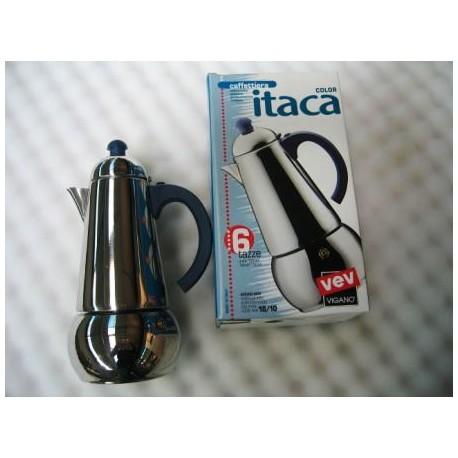 cafetière Italienne inox 4 tasses Itaca VEV VIGANO