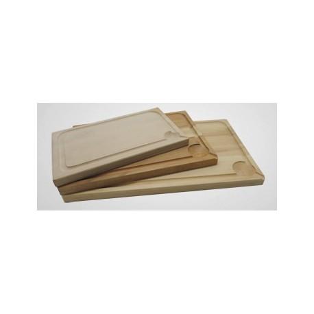 Planche à découper bois 45X30X2.4 cm