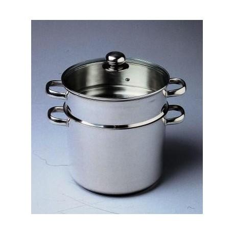 couscoussier 8 litres inox