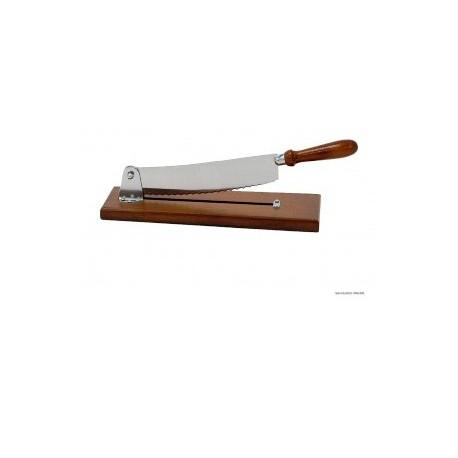 coupe pain socle bois