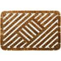 tapis brosse coco métal