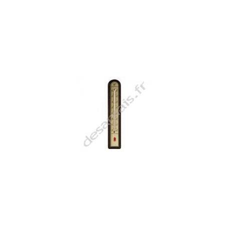 Thermomètre bois marque stil
