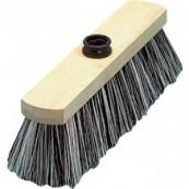 balai ciment bois brut
