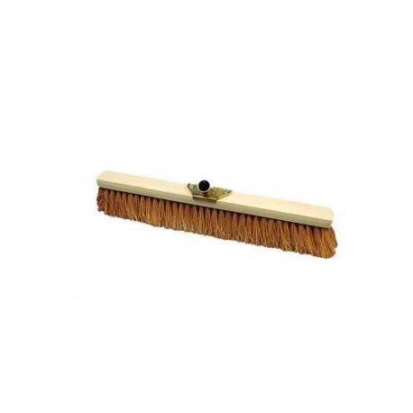balai coco 60 cm support bois