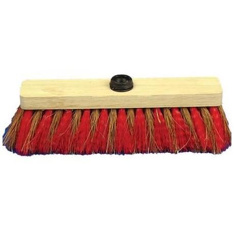 balai coco nylon 37.5 cm support bois